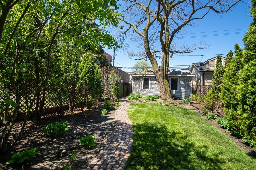 Real Estate Photography - 4220 N. Hermitage Avenue, Chicago, IL, 60613 - Back Yard