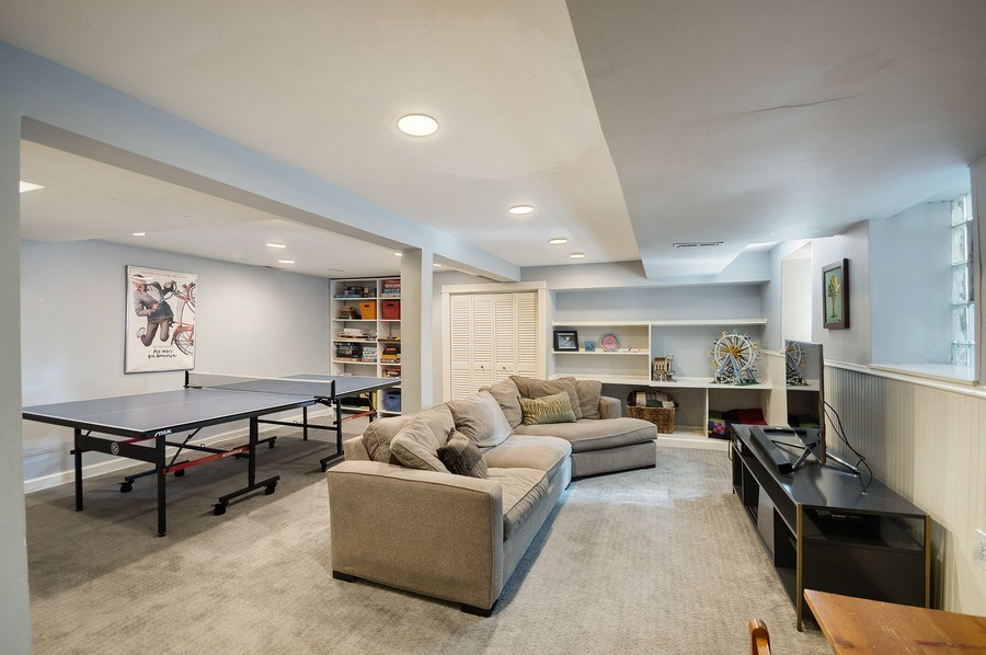 Real Estate Photography - 4220 N. Hermitage Avenue, Chicago, IL, 60613 - Family Room