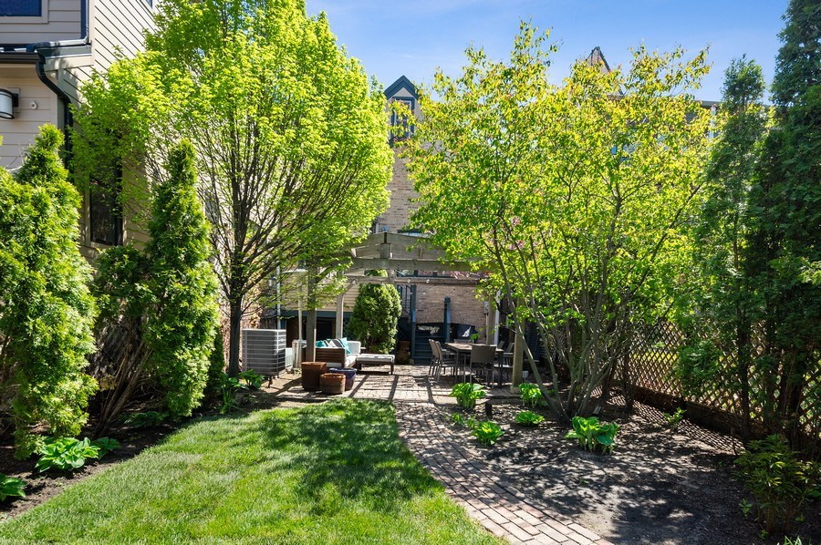 Real Estate Photography - 4220 N. Hermitage Avenue, Chicago, IL, 60613 - Rear View