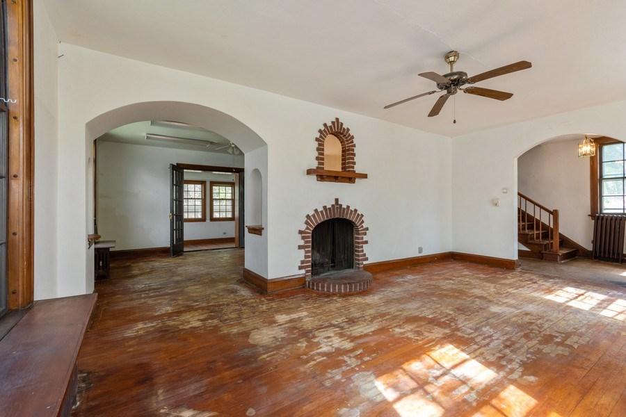 Real Estate Photography - 225 West Ogden Ave, Naperville, IL, 60540 - Living Room