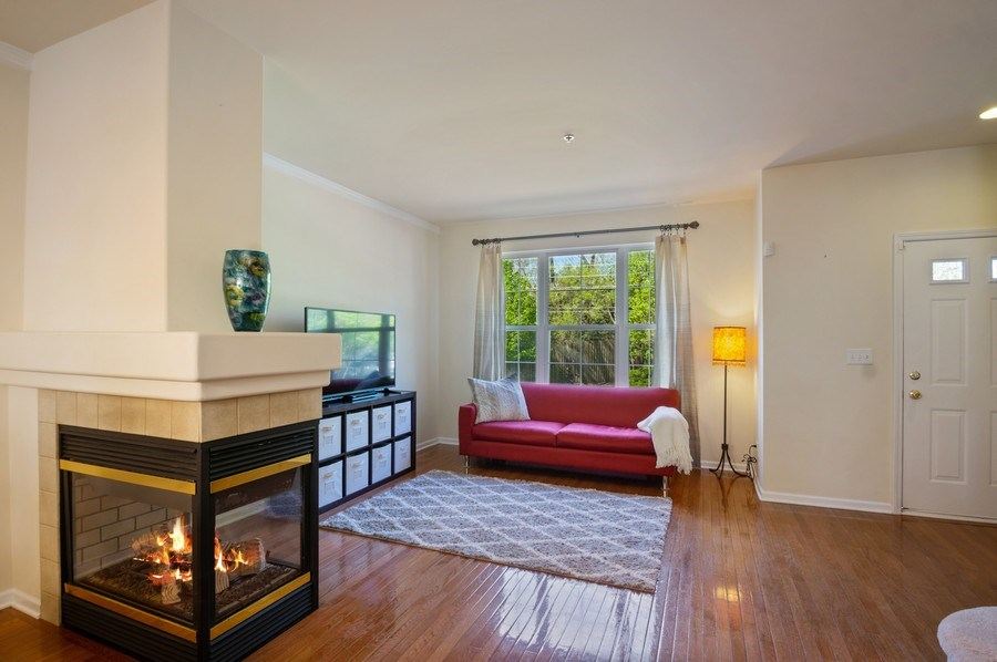 Real Estate Photography - 4655 N. Laporte Avenue, Chicago, IL, 60630 - Living Room