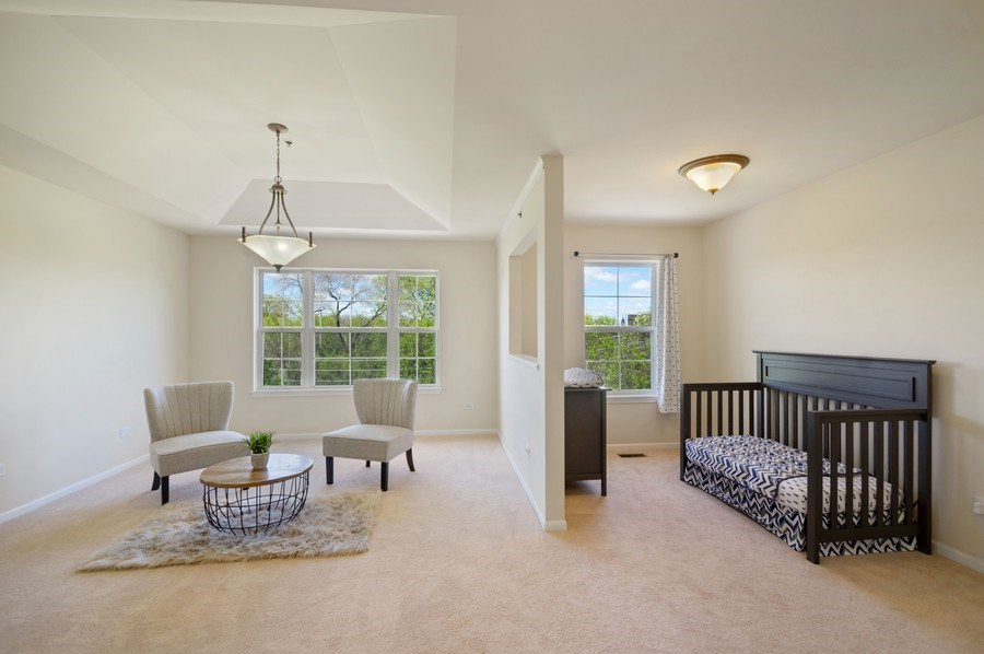 Real Estate Photography - 4655 N. Laporte Avenue, Chicago, IL, 60630 - Master Bedroom