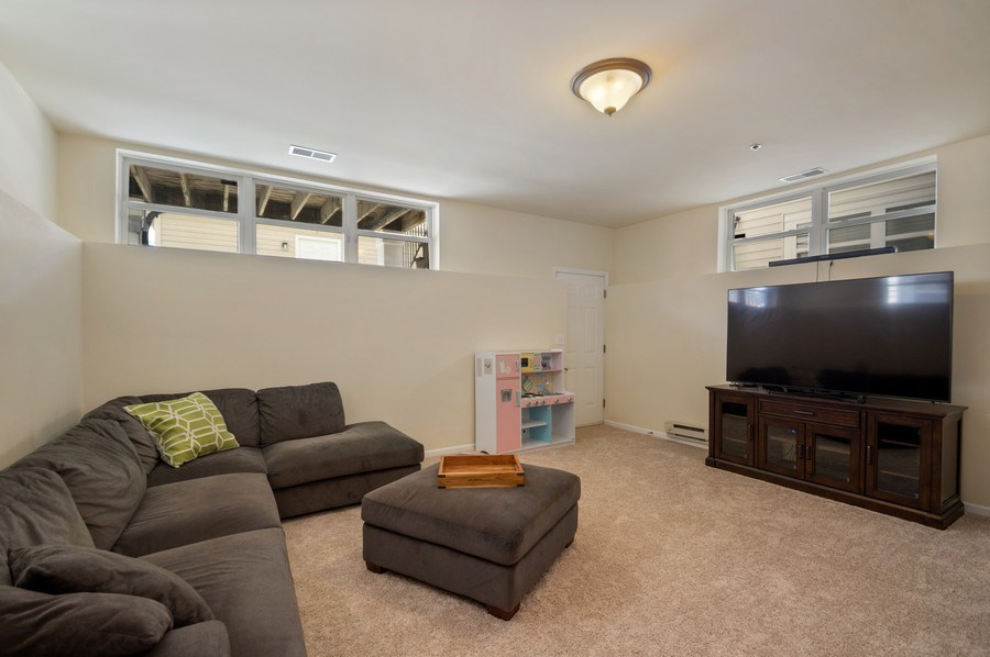 Real Estate Photography - 4655 N. Laporte Avenue, Chicago, IL, 60630 - Recreational Room
