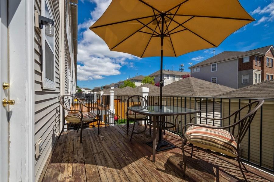 Real Estate Photography - 4655 N. Laporte Avenue, Chicago, IL, 60630 - Deck