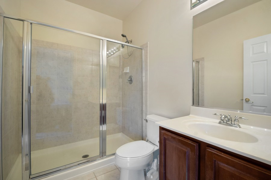 Real Estate Photography - 4655 N. Laporte Avenue, Chicago, IL, 60630 - 2nd Bathroom