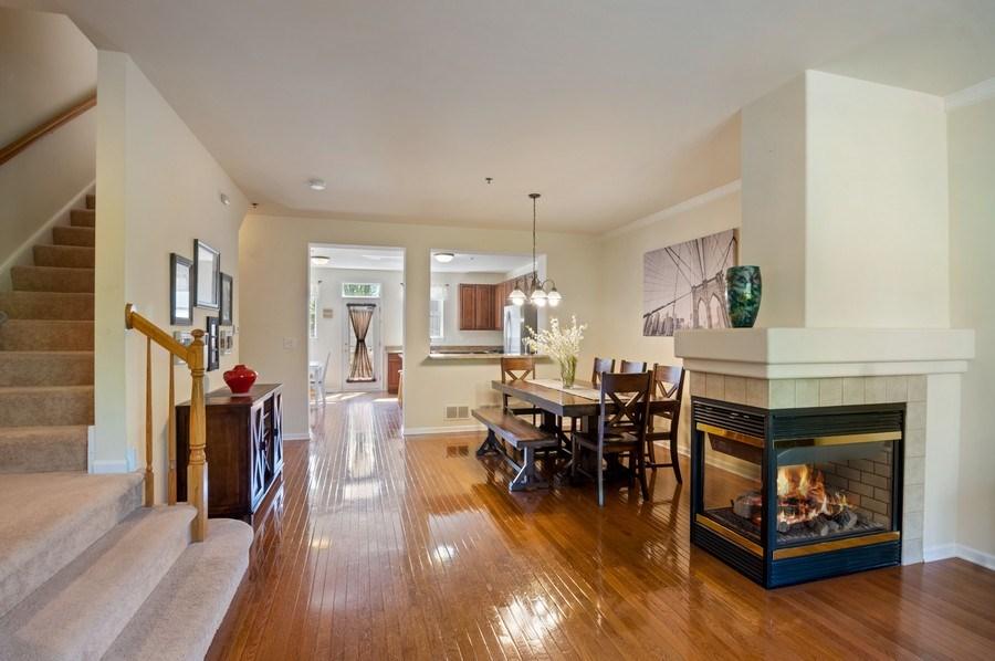 Real Estate Photography - 4655 N. Laporte Avenue, Chicago, IL, 60630 - Kitchen / Dining Room