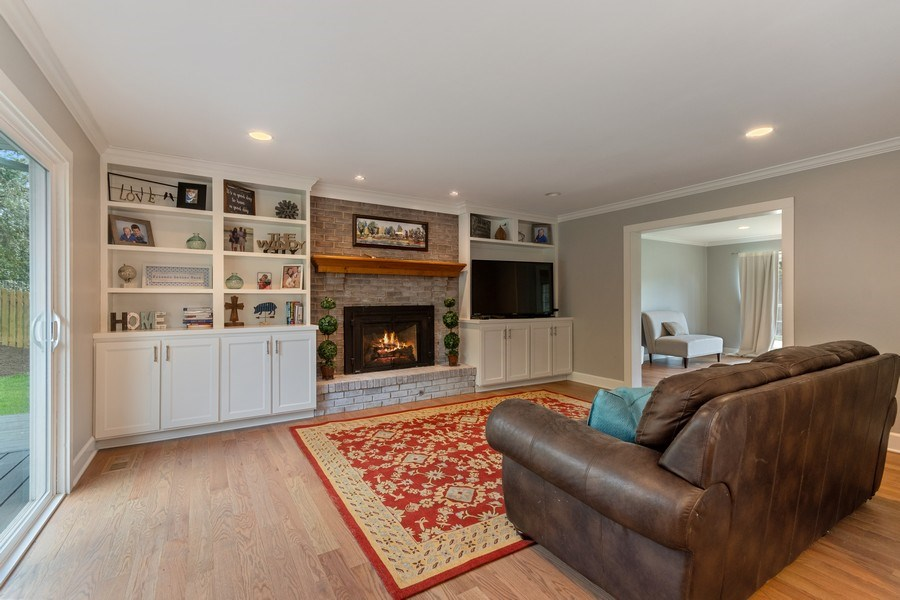 Real Estate Photography - 405 Lampwick Court, Naperville, IL, 60563 - Family Room