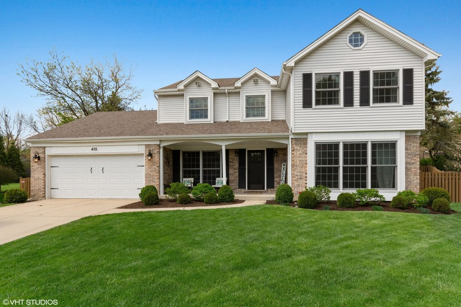Real Estate Photography - 405 Lampwick Court, Naperville, IL, 60563 -