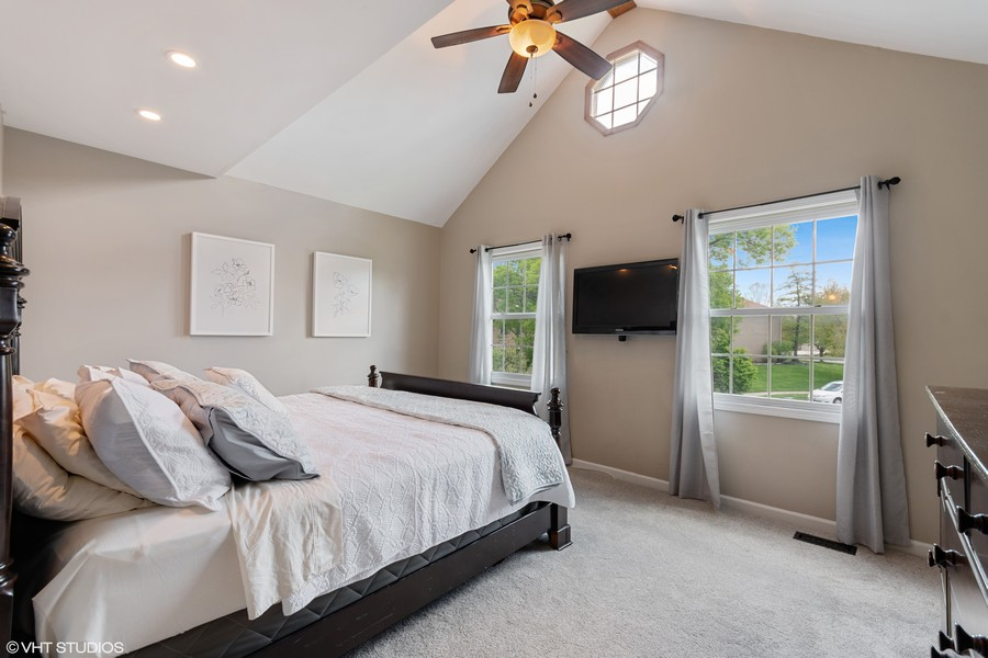 Real Estate Photography - 405 Lampwick Court, Naperville, IL, 60563 - Master Bedroom