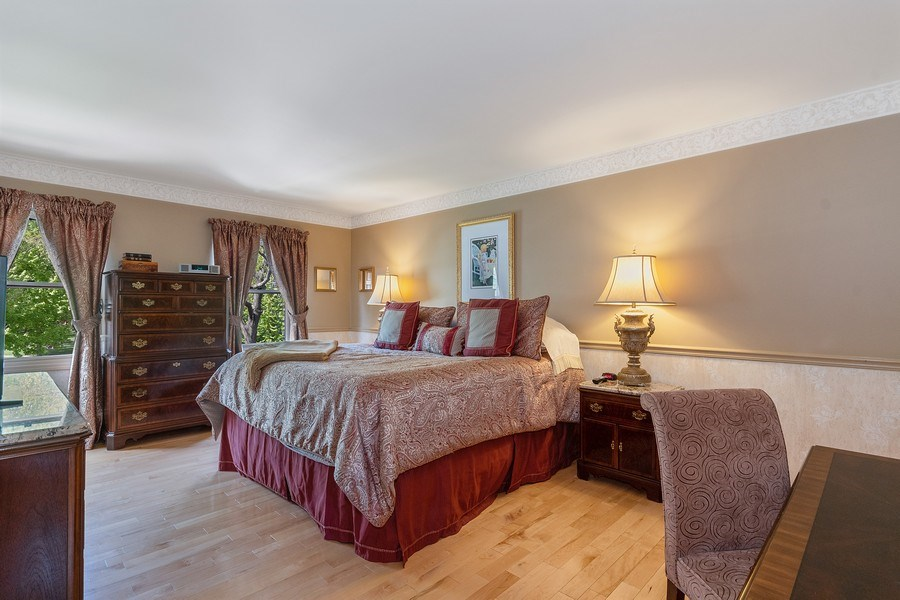 Real Estate Photography - 1549 Preston Road, Naperville, IL, 60563 - Master Bedroom