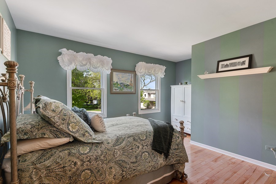 Real Estate Photography - 1549 Preston Road, Naperville, IL, 60563 - 2nd Bedroom