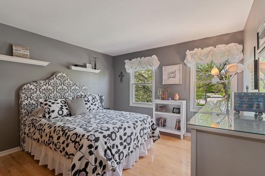 Real Estate Photography - 1549 Preston Road, Naperville, IL, 60563 - 3rd Bedroom