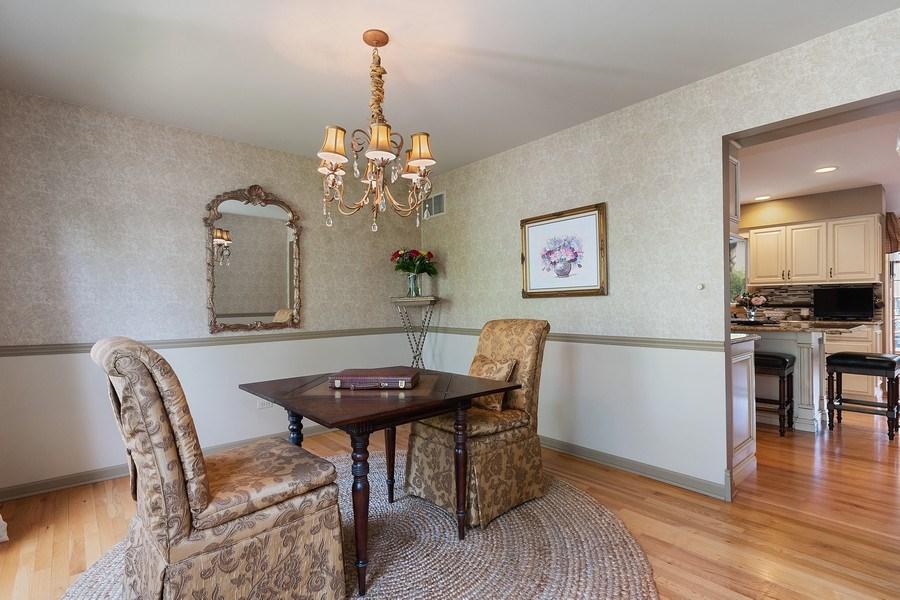 Real Estate Photography - 1549 Preston Road, Naperville, IL, 60563 - Dining Room