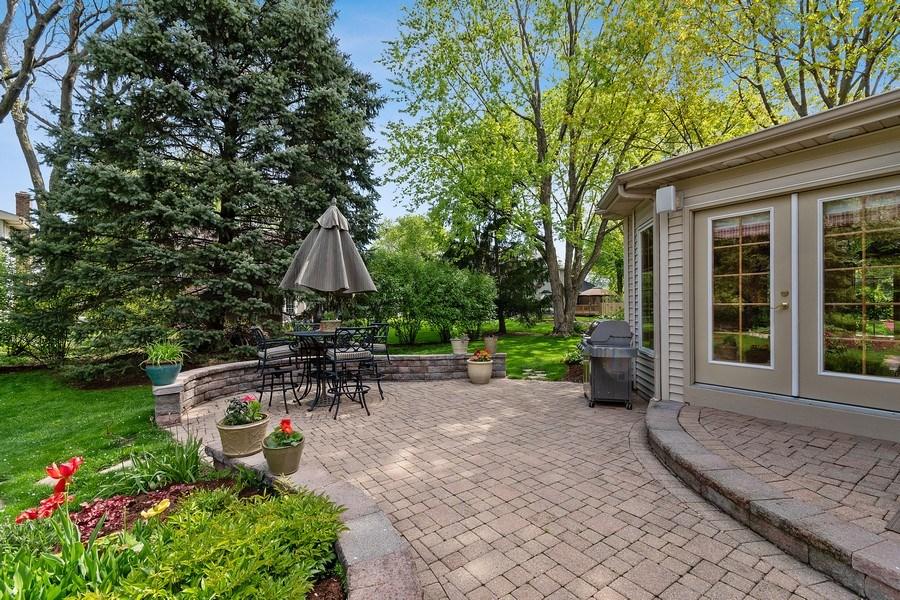 Real Estate Photography - 1549 Preston Road, Naperville, IL, 60563 - Back Yard