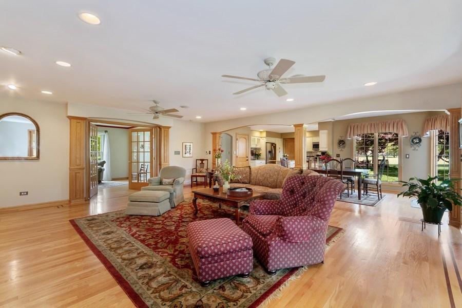 Real Estate Photography - 1549 Preston Road, Naperville, IL, 60563 - Family Room