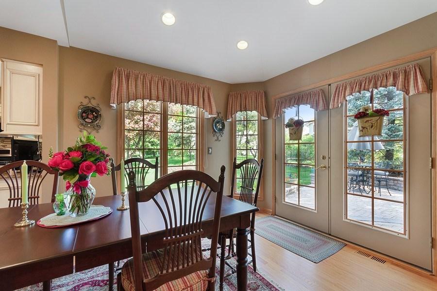 Real Estate Photography - 1549 Preston Road, Naperville, IL, 60563 - Breakfast Nook