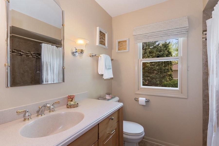 Real Estate Photography - 1549 Preston Road, Naperville, IL, 60563 - 2nd Bathroom