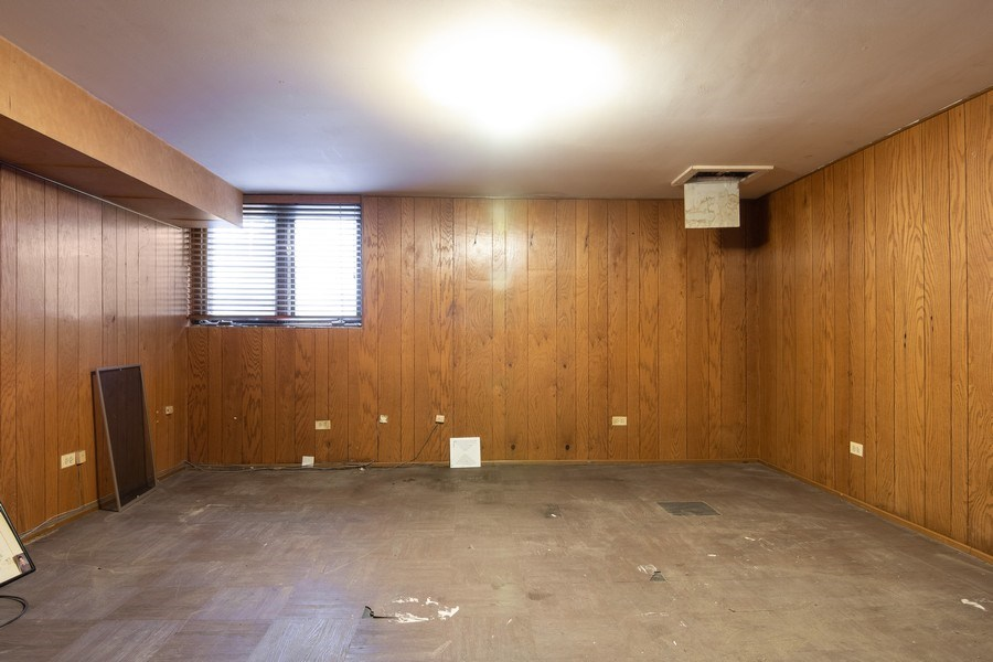 Real Estate Photography - 1731 Grove Street, Glenview, IL, 60025 - Basement