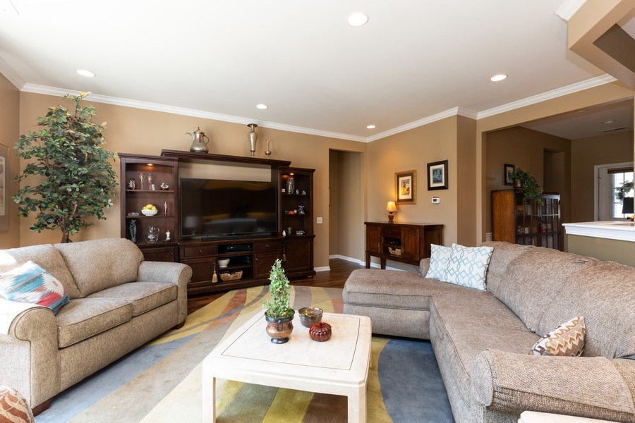 Real Estate Photography - 12382 Scarlet Drive, Huntley, IL, 60142 - Living Room