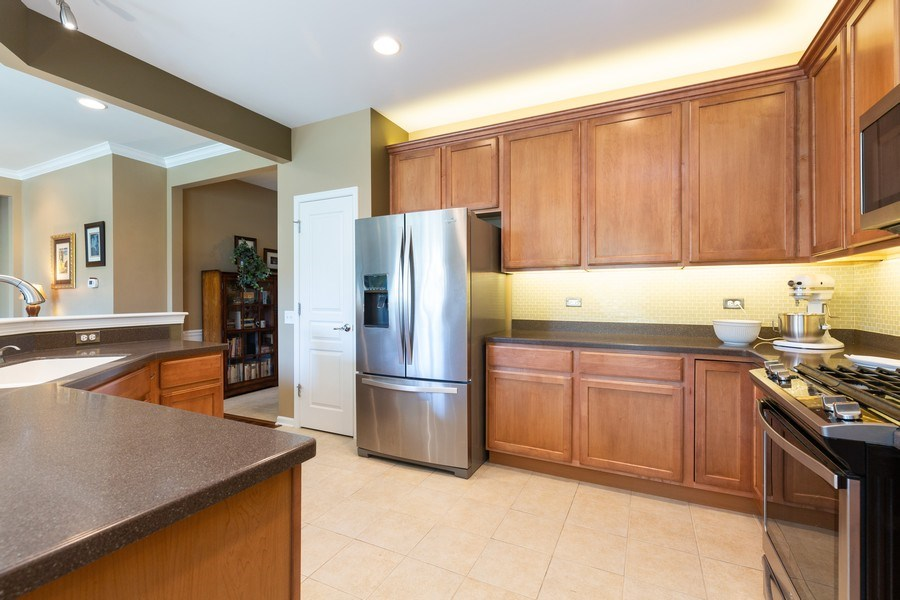 Real Estate Photography - 12382 Scarlet Drive, Huntley, IL, 60142 - Kitchen