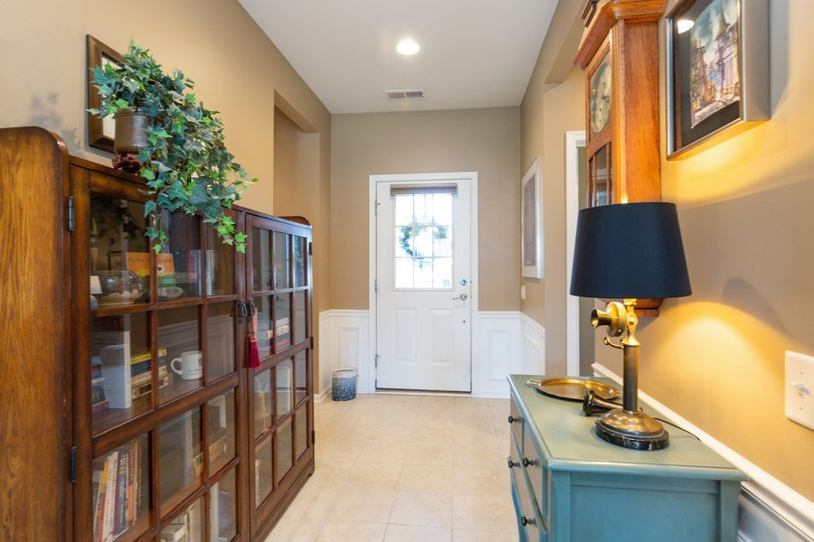 Real Estate Photography - 12382 Scarlet Drive, Huntley, IL, 60142 - Foyer