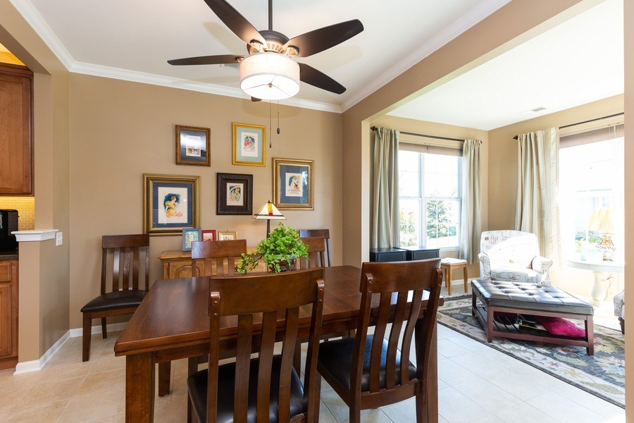Real Estate Photography - 12382 Scarlet Drive, Huntley, IL, 60142 - Dining Room
