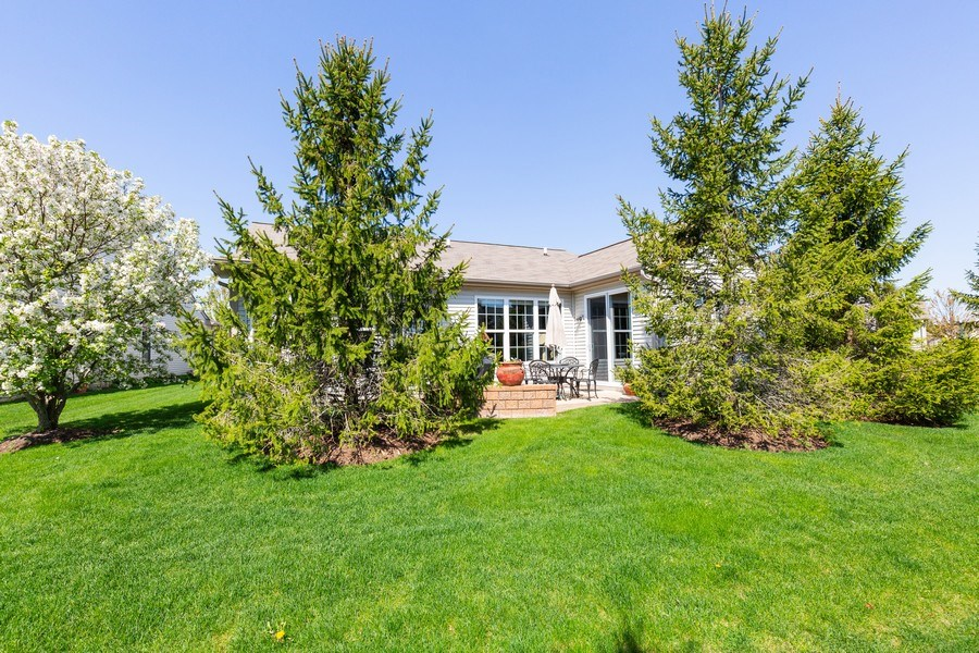 Real Estate Photography - 12382 Scarlet Drive, Huntley, IL, 60142 - Rear View