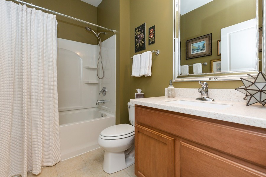 Real Estate Photography - 12382 Scarlet Drive, Huntley, IL, 60142 - Bathroom