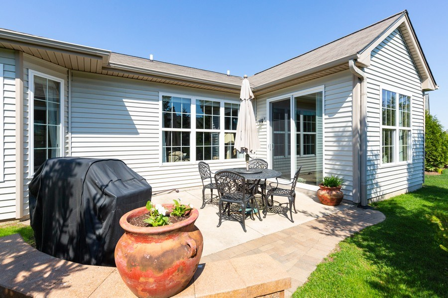 Real Estate Photography - 12382 Scarlet Drive, Huntley, IL, 60142 - Patio