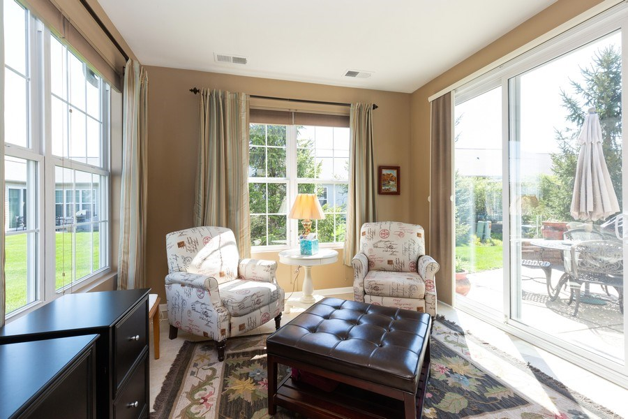 Real Estate Photography - 12382 Scarlet Drive, Huntley, IL, 60142 - Sun Room