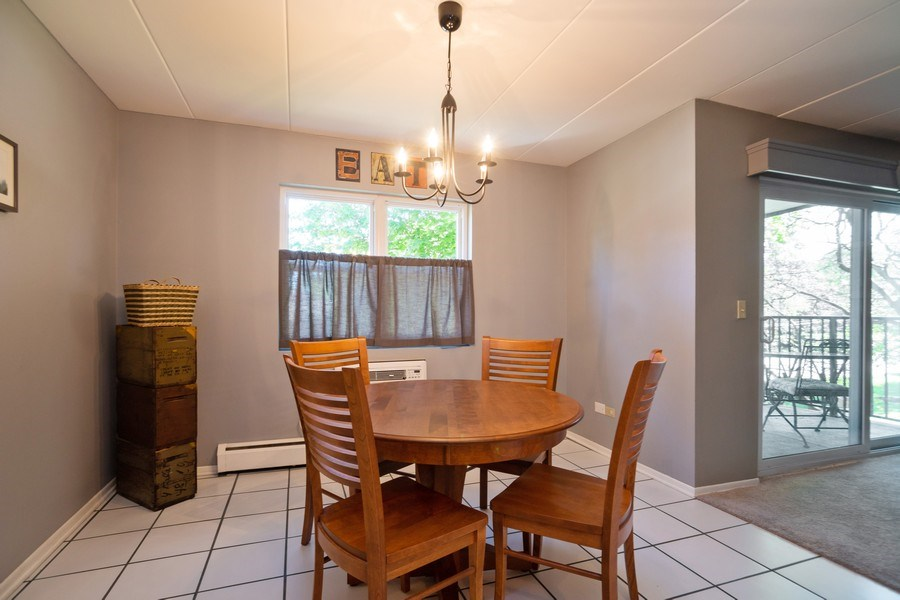 Real Estate Photography - 819 E. MINER Street, Unit 2B, Arlington Heights, IL, 60004 - Dinette