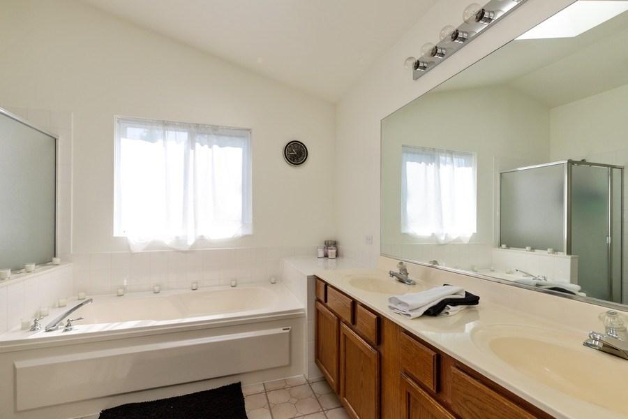 Real Estate Photography - 1312 MAYFAIR Lane, Grayslake, IL, 60030 - Master Bathroom