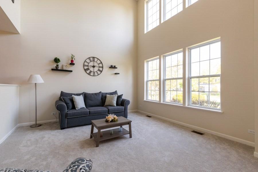 Real Estate Photography - 1312 MAYFAIR Lane, Grayslake, IL, 60030 - Living Room