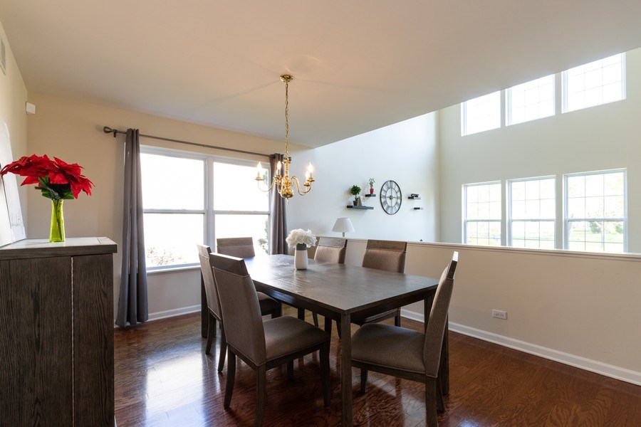 Real Estate Photography - 1312 MAYFAIR Lane, Grayslake, IL, 60030 - Dining Room