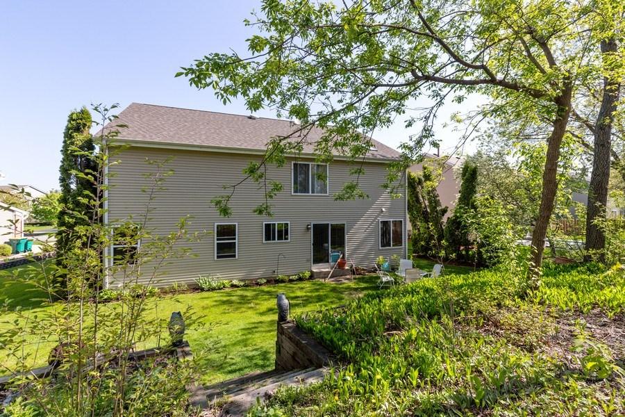 Real Estate Photography - 1312 MAYFAIR Lane, Grayslake, IL, 60030 - Rear View
