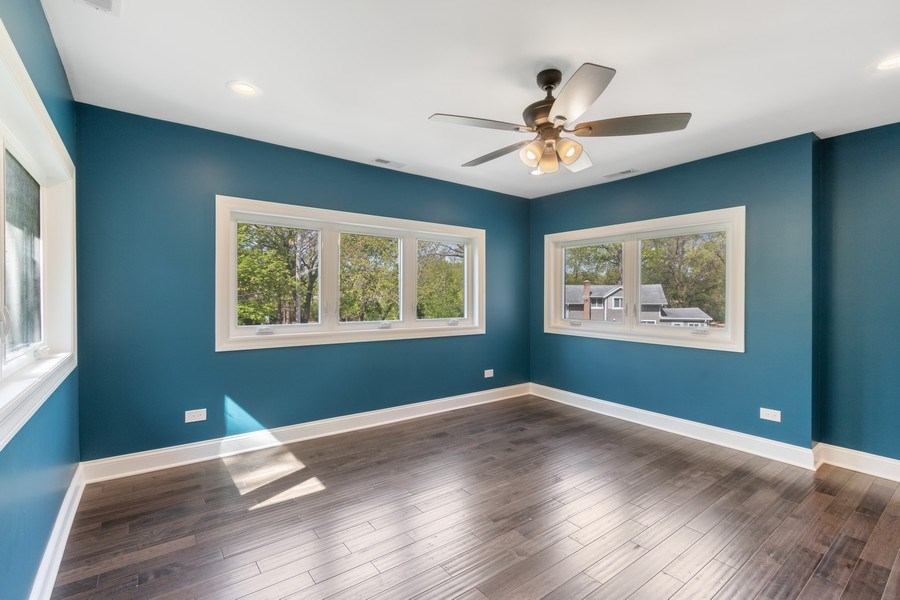 Real Estate Photography - 403 Woods Road, Des Plaines, IL, 60016 - 3rd Bedroom