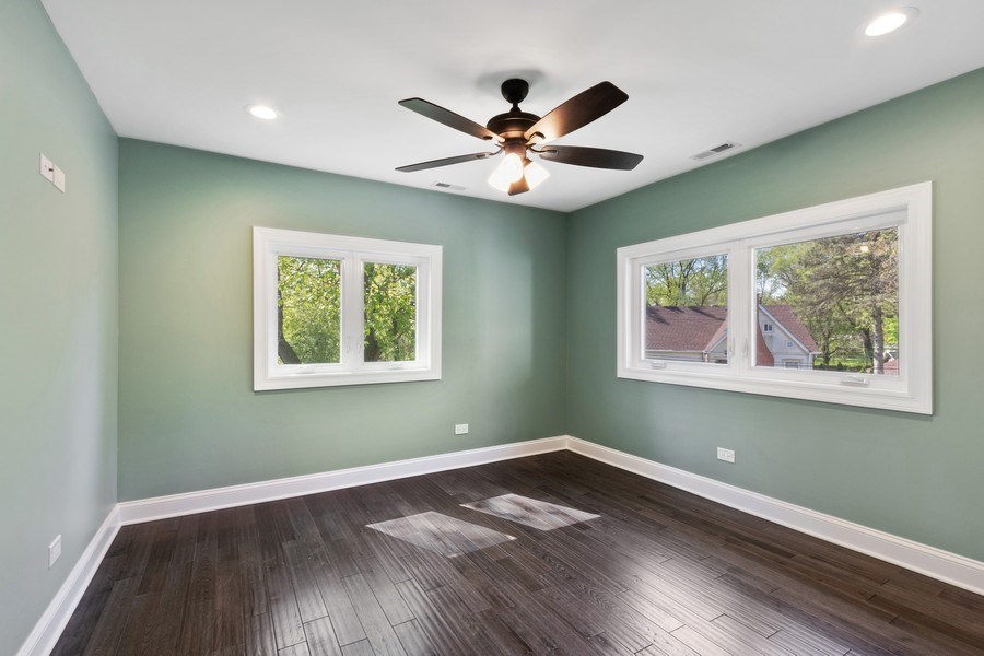Real Estate Photography - 403 Woods Road, Des Plaines, IL, 60016 - 4th Bedroom