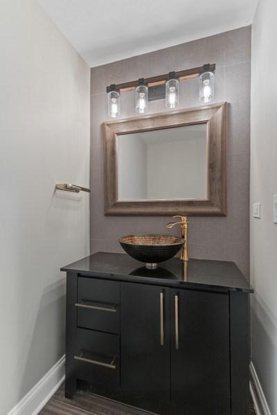Real Estate Photography - 403 Woods Road, Des Plaines, IL, 60016 - Powder Room