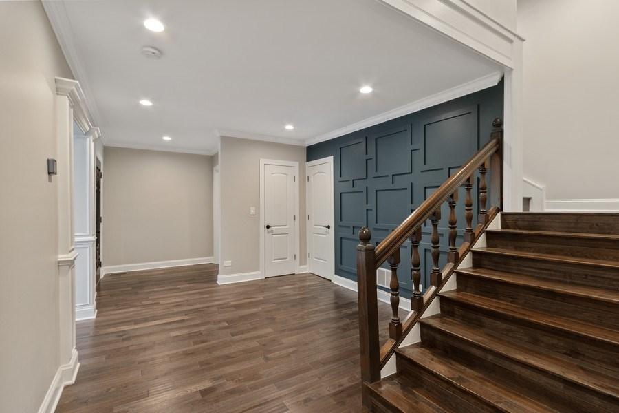 Real Estate Photography - 403 Woods Road, Des Plaines, IL, 60016 - Foyer