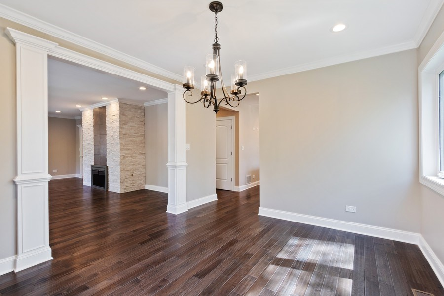 Real Estate Photography - 403 Woods Road, Des Plaines, IL, 60016 - Dining Room