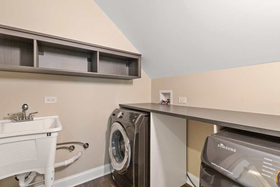 Real Estate Photography - 403 Woods Road, Des Plaines, IL, 60016 - Laundry Room