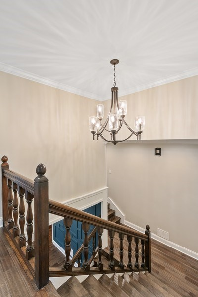 Real Estate Photography - 403 Woods Road, Des Plaines, IL, 60016 - Staircase