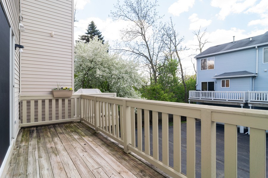 Real Estate Photography - 1661 Orchard Court, West Chicago, IL, 60185 - Deck