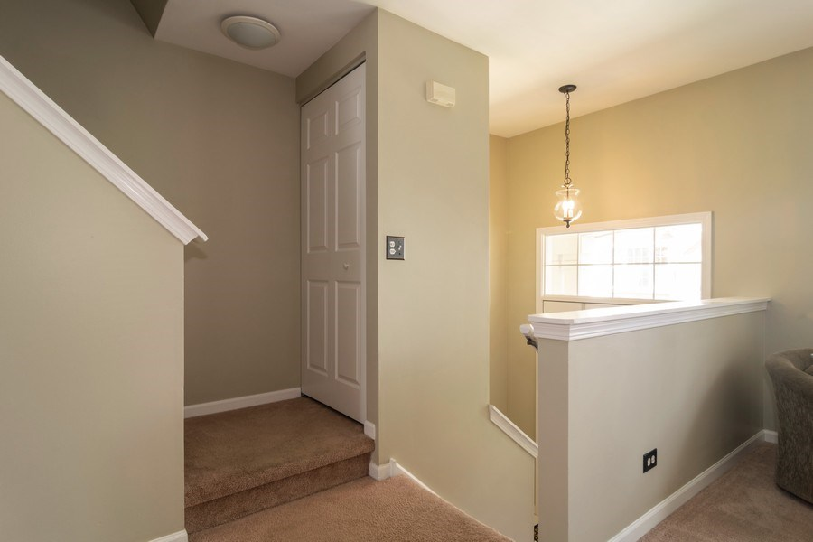 Real Estate Photography - 1661 Orchard Court, West Chicago, IL, 60185 - Staircase