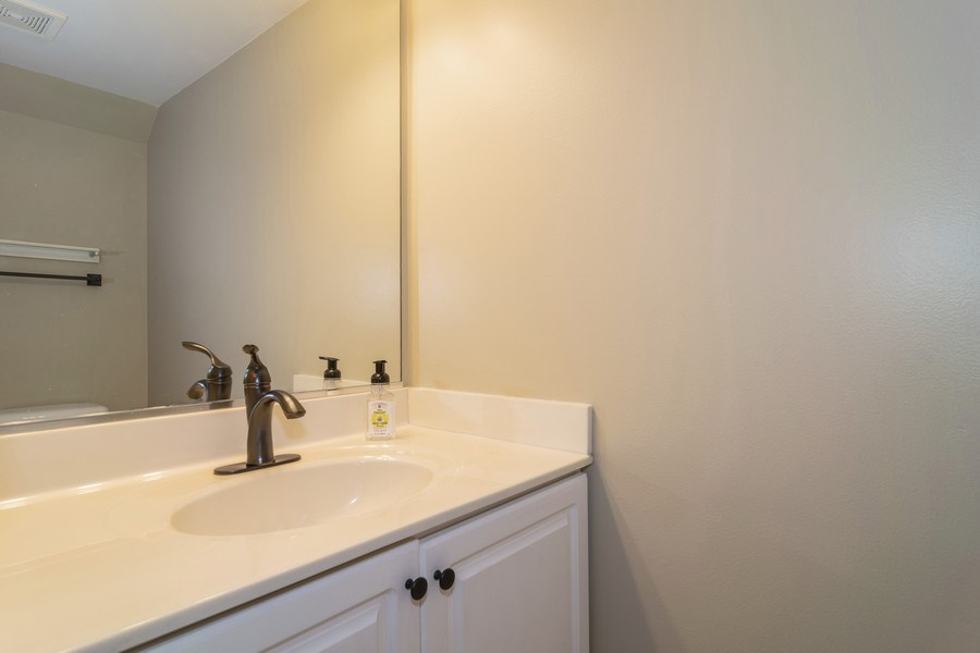 Real Estate Photography - 1661 Orchard Court, West Chicago, IL, 60185 - Half Bath