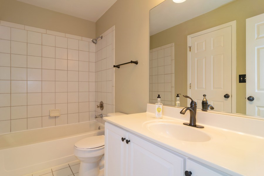 Real Estate Photography - 1661 Orchard Court, West Chicago, IL, 60185 - Bathroom