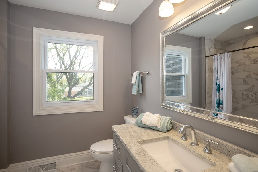 Real Estate Photography - 1653 N. Douglas Avenue, Arlington Heights, IL, 60004 - Master Bathroom