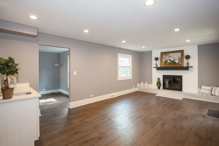 Real Estate Photography - 1653 N. Douglas Avenue, Arlington Heights, IL, 60004 - Family Room