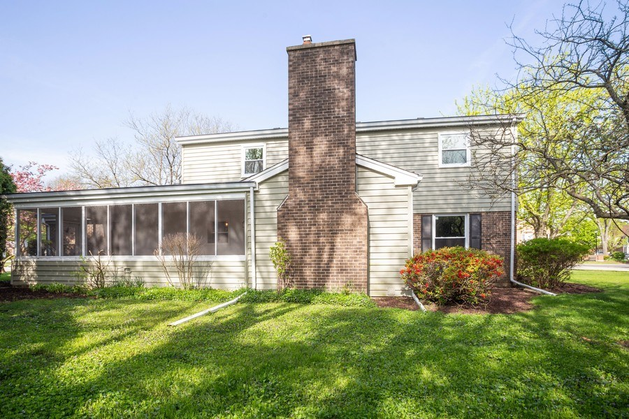Real Estate Photography - 1653 N. Douglas Avenue, Arlington Heights, IL, 60004 - Rear View