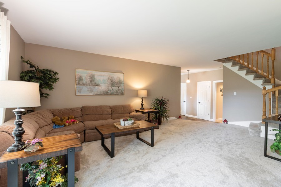 Real Estate Photography - 4218 Wilson Avenue, Rolling Meadows, IL, 60008 - Living Room